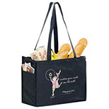 Non-Woven Tote with Handy Side Pockets 16 x 6 x 12