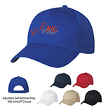 Pre-Curved One-Size-Fits-All Baseball Cap