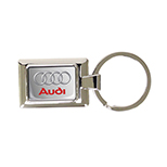 Rectangular Key Tag with Full Color Imprint and Dome