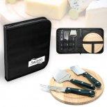 Classic Cheese Board & Knife Set