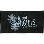 Beaches Love Me Velour Towel