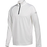 Puma Golf 1/4 Zip LS Polo Cresting