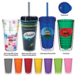 16 Oz. Tritan Double Wall Tumbler