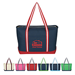 Captain's Canvas Boat Tote