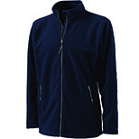 Men's Boundary Fleece Jacket by Charles River