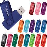 Flip and Fold 1GB USB Drive