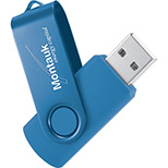 2 GB Rogers' Rotating USB Drive