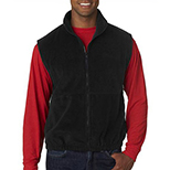 Functional Full Zip Fleece Vest