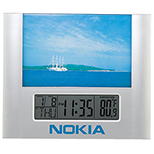 Picturesque Photo Frame LCD Alarm Clock