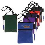 600D Polyester Badge Holder/Neck Wallet