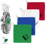Microfiber Golf Towel with Metal Grommet