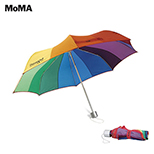 MoMA Color Spectrum Wheel Collapsible Umbrella