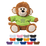 Monkey Plush with Shirt