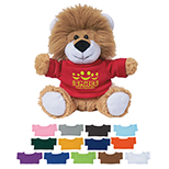 Lion Plush with T-Shirt