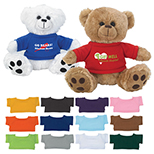 Bear Plush with Shirt
