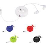 Retractable Encased Earbuds