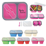 2-Compartment Food Container Set