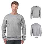 Gildan Heavy Blend Classic Fit Adult Crewneck Sweatshirt in Heather