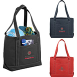 Wellfleet Cotton Boat Tote