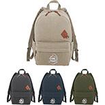 Alternative Basic Cotton Computer Backpack