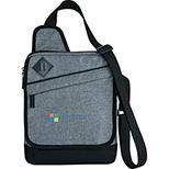 Textured Graphite Tablet Bag