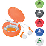 Round Boxed Earbuds