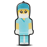 Doctor USB Flash Drive - 2 GB