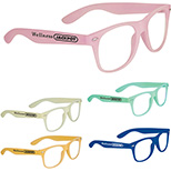 Thick Frame Glasses - Glow