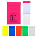 Unlined Neon Notepad