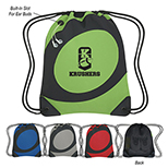 Twister Mesh Drawstring Backpack