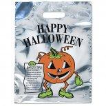 Reflective Pumpkin Halloween Bag