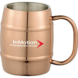 14 Oz Stainless Steel Barrel Mug