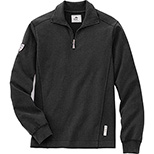 Men's Cotton Zip Up Top
