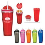 16 oz. Tumbler With Snack Lid