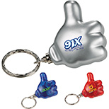 Thumbs Up Keychain w/ Light