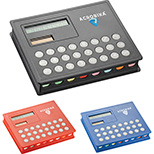 2-in-1 Calculator and Sticky Note