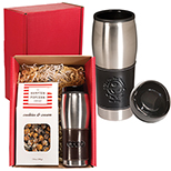 Executive Tumbler & Hampton Popcorn Gift Set