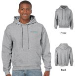 Gildan Heavy Blend Classic Fit Adult Hooded Sweatshirt, 8 oz. -Sport Gray