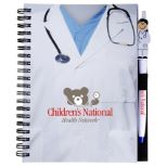 Healthcare Notebook & Pen Set