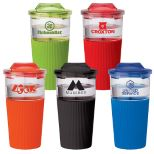 16oz. Hot & Cold Ribbed Tumbler