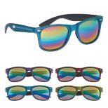 Woodtone Mirrored Miami Sunglasses
