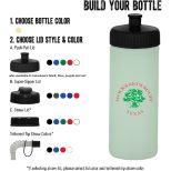 16oz. Glow In The Dark Sports Bottle