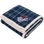 Field & Co. Plaid Sherpa Blanket