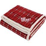 Field & Co. Plaid Sherpa Blanket