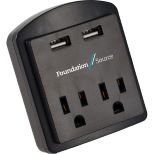 ETL Listed  Dual USB Outlet/AC Adapter