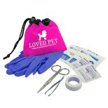 Pet Care Kit in Cinch Tote