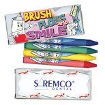 4 Pack Dental Theme Crayons