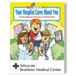 Your Hospital Cares Coloring Book