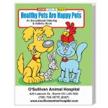 Healthy Pets are Happy Pets Coloring Book