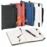Hard Cover Non-Refillable Journal with Pen Included